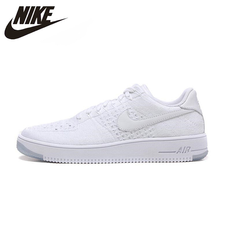 Nike Original New Arrival Official Air Force 1 Men's Skateboarding Shoes Breathable Outdoor Sneakers 817419-100
