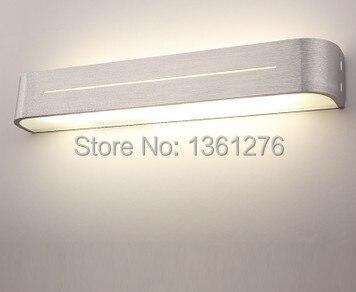 ФОТО high quality mirror light led wall lamps wall light 85-265v 9w 38cm length decoration led light acrylic and aluminum materials