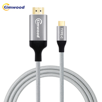 Kimwood USB C HDMI Cable Type C To HDMI Converter Micro USB C HDMI Adapter 60HZ