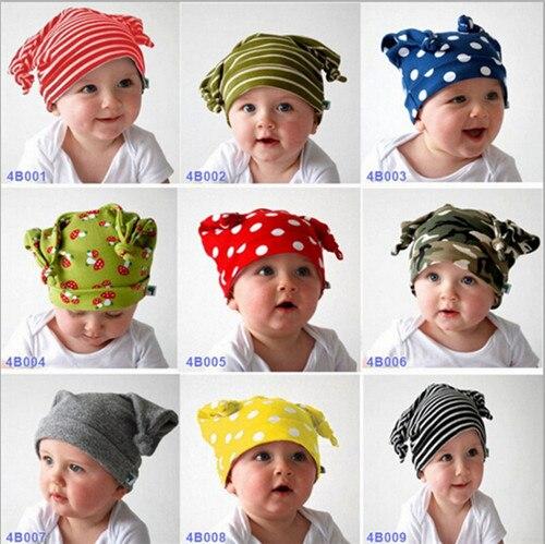 2015 Fashion Kids Baby Hat Cap Children Boys Girls Beanies Lovely Baby Hats