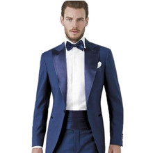 New Handsome Groom suits  Groomsmen Custom Made Slim Fit Best Man Suit Wedding Men Suits Bridegroom Formal  suits
