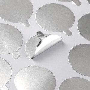 Image 3 - Nouveau, 300 pièces, palettes, tampons de colle jetables pour extensions de cils, porte colle pièces, accessoire de beauté, taille 2.5cm
