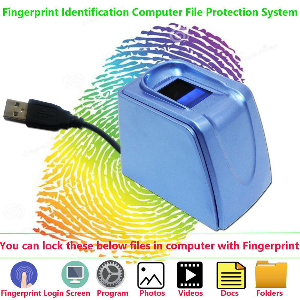 Fingerprint Scanner Reader For Computer Login Lock File Folders Photos Videos Againest Disclosing Or Theft