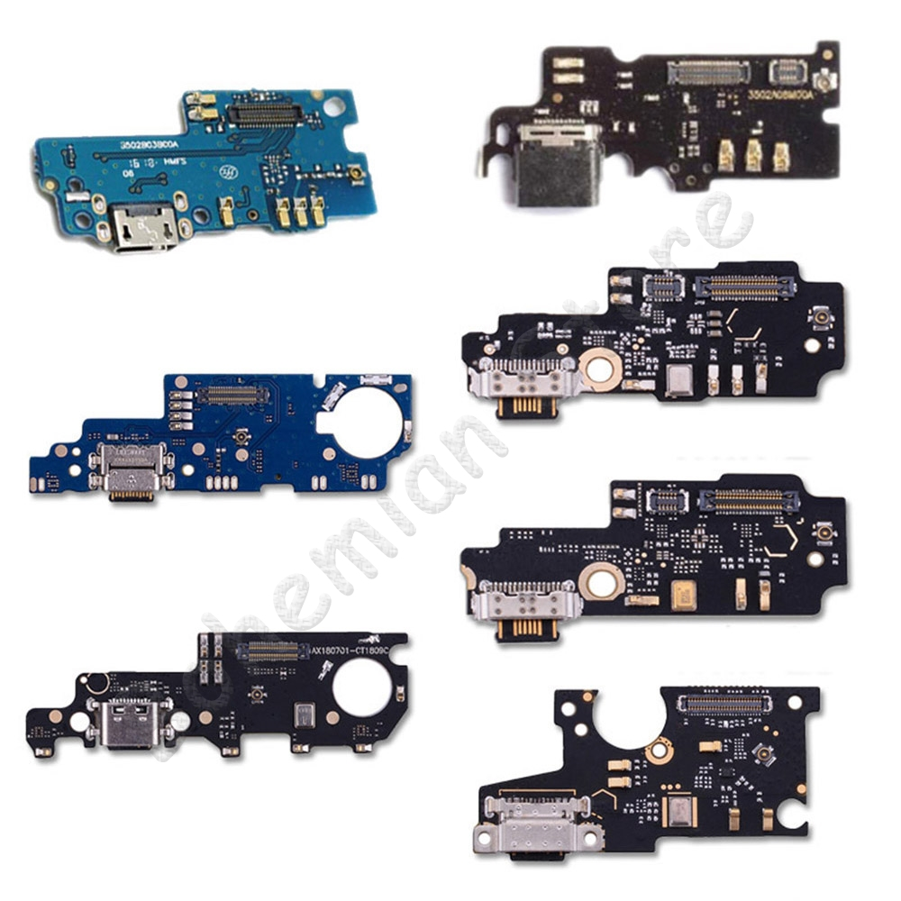 USB Date Charging Port Dock Connector Flex Cable For Xiaomi Mi Note Max Mix 1 2 2s 3 A1 A2 Lite Pro F1 Dock Charger PCB Flex