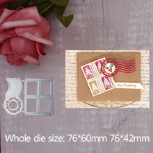 Stamp decoration Cutting Dies Stencils for Scrapbooking Card Decor Diy Crafts Die-cutting and cutting dies