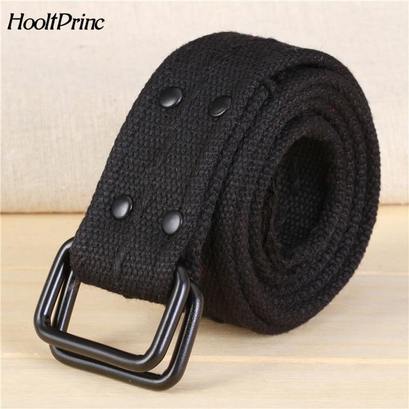 ecca32e0aa51 Branddouble boucle toile ceintures femme LARGE CEINTURE 2018 hommes  designer ceintures haute qualité célèbre marque tactique