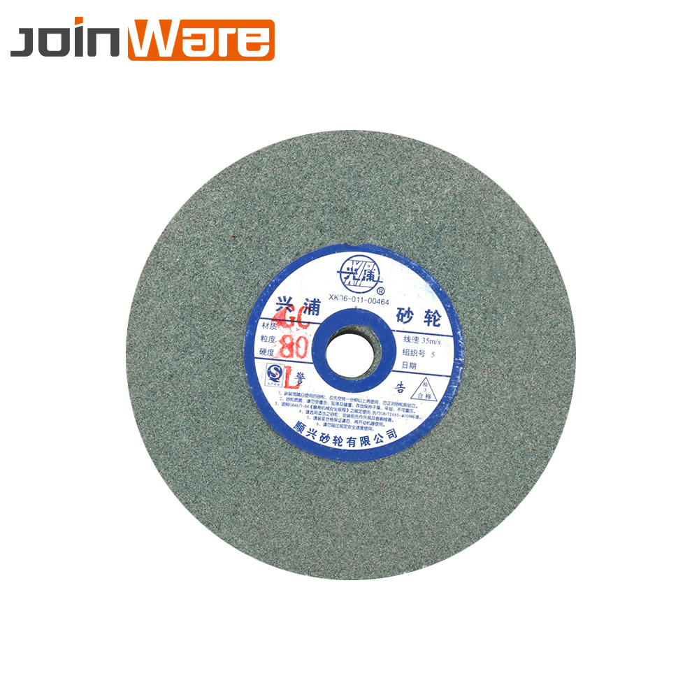 150mmx12.7x16mm Ceramic Grinding Wheel Resistant Disc Abrasive Disc Polishing Metal Stone Wheel For Bench Grinders 80#