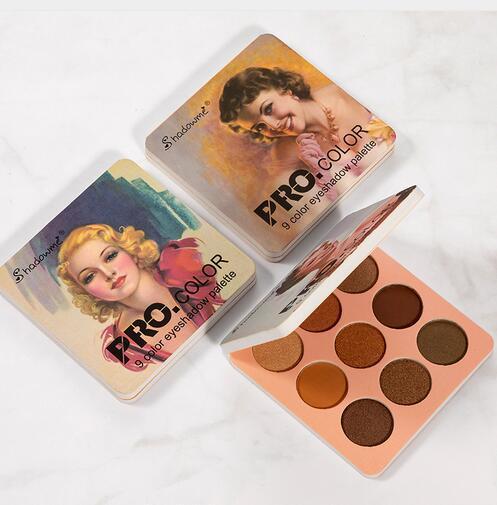 Matte Eyeshadow Palette Naakt Mineralen Professionele Oogschaduw Poeder Pigment Cosmetische Waterdichte Matte Make Up Oogschaduw Palet