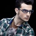 Das Mulheres Dos Homens de MODA 2016 Óculos de Armação Oculos de grau RÁPIDA Leitura Gaming Optical Óculos Frames Fit Limpar Lens Gafas FF3014