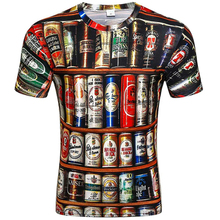fashion man summer 2019 Various eagle poker clown mens tshirts funny 3D T-Shirt casual breathable Newest print man tshirt цены