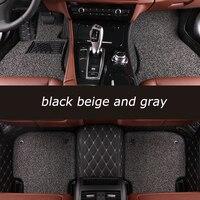 Kalaisike Custom Car Floor Mats For Cadillac All Models SRX CTS Escalade ATS CT6 SLS XT5