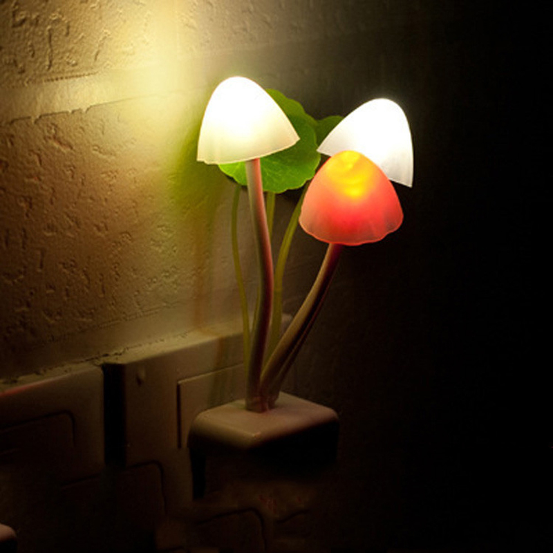 √New Creative Fantastic Romantic Mushroom Light For Children Sense ...