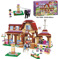 Bela 10562 Friends Series Heartlake Riding Club Model Building Block Bricks Toy For Children Compatible With
