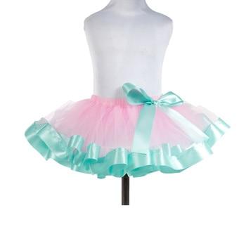 e96838c50 Faldas de chifón esponjosas tutú de princesa para fiesta faldas de Ballet  Ropa de baile de 12 m-10 ...