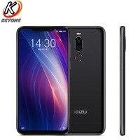 Brand new Meizu X8 4G LTE Mobile Phone 6.2 4GB RAM 64GB ROM Snapdragon 710 Octa Core 2220x1080 px Dual Rear Camera Smart Phone