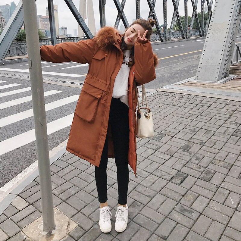 Rosa N06 cammello Solido Tuta Il Cappuccio bianco 2018 Lungo