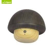 Leegoal Беспроводной Mini Bluetooth Динамик Портативный гриб Super Bass стерео Bluetooth Динамик текстура древесины для телефона компьютер