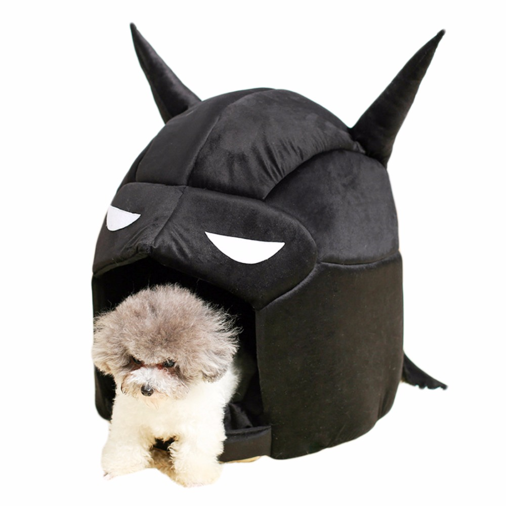 YUYU Dog House Soft Cool Batman Cat Dog Kennel For Small Medium Pets Warm Puppy Nest Bed House Dog Beds House Pet Supplies