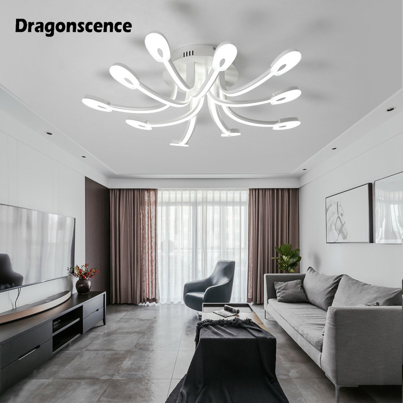 Dragonscen LED Ceiling chandelier lighting for living room Dining Room Study Kitchen Bathroom Foyer chandelier lamp цена