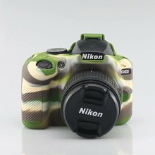Camera Bag Case for Nikon D90 D3300 D3400 D3500 D5100 D5200 D5300 D5500 D5600 DSLR Soft Silicone Rubber Protection Case