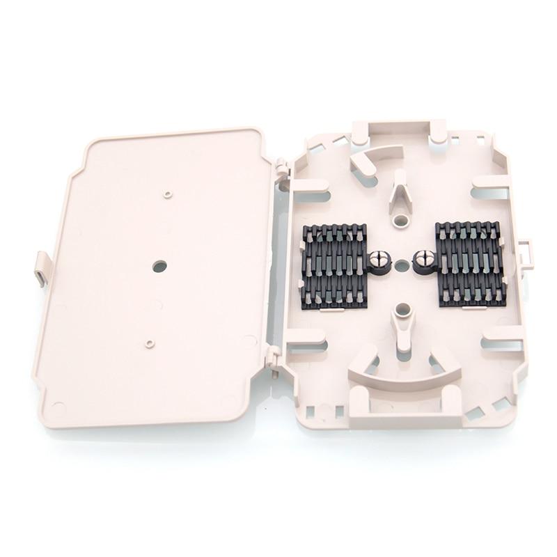 bilder für 10 STÜCKE/packe 12 kerne faser lwl-spleißkassette mit ABS material Verwenden FTTH Glasfaser-anschlusskasten faser glasfaserkabel tablett