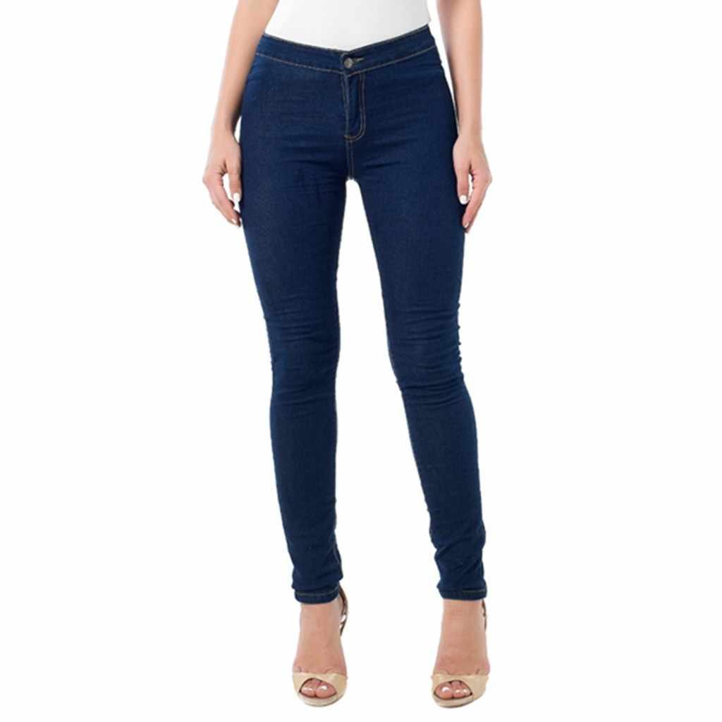 Streetwear Cargo Pants Women Casual Joggers Women High Waist Stretch Jeans Leggings Skinny Slim Fitness Pants Trousers GH50