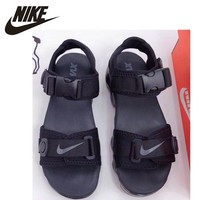 Nike Men Comfortable Running Sandals Shoes Air Cushion Outdoor Sports Sandals