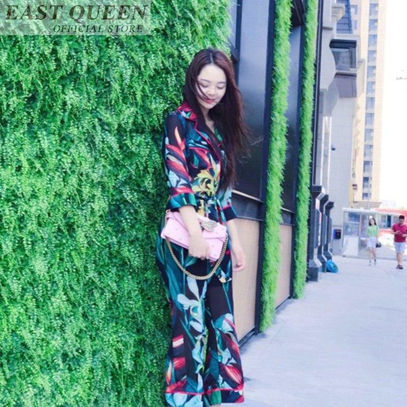 Élégante Casual Pantalon Up Floral Combinaisons Pour Soie Longueur Dd611 1 Femmes Dentelle Imprimé 2018 Femme De Pleine L Lâche Mousseline Salopette 5AcLqS3R4j