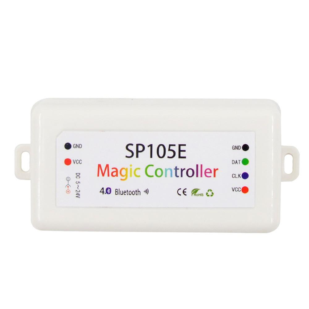 MJJC Bluetooth LED Piksel Nəzarətçisi 5V 12V 24V WS2811 WS2812 - İşıqlandırma aksesuarları - Fotoqrafiya 2
