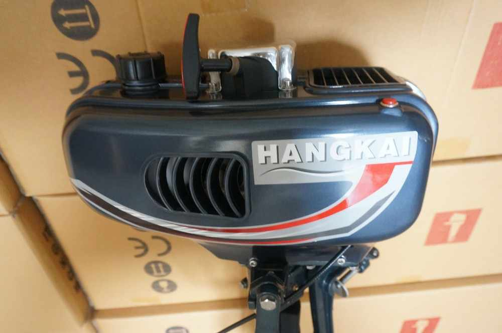 2018 Whosale/Retails 3 5HP Outboard Motor Two Stroke Boat Engine Water  Cooled fast free shipping