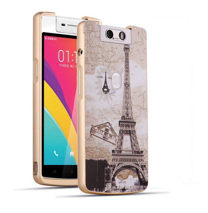 new products 5cbd7 35f4c US $5.99 |For OPPO N3 Luxury Aluminum Metal Frame+3D Plastic Relief Back  Cover Case Phone Bag on Aliexpress.com | Alibaba Group