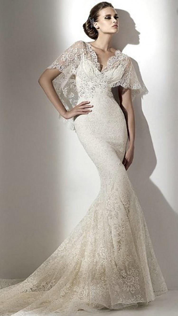 Bell sleeve wedding dresses dress blog edin for Bell sleeve wedding dress