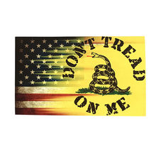 5pcs Dont Tread On Me Gadsden Flag Vinyl Decal Sticker Car Sticker Decor stickers home decor Hot Sale(China)