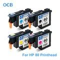 Для печатающей головки hp 80 C4820A C4821A C4822A C4823A печатающая головка для принтера hp Designjet 1050 1055 1055 см 1050c Plus (BK C M Y)