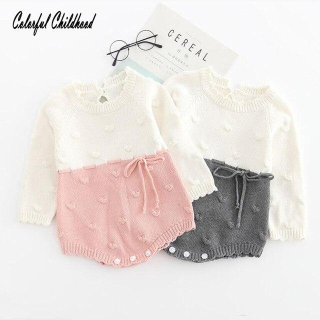 9f38fbcfa5dc Aliexpress.com   Buy Cute terry ball design baby clothes winter ...