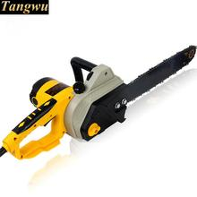 Free shipping High-power electric chain saw home carpentry. Logging.Chain saws wood
