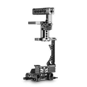 Image 3 - SmallRig GH5 Halb Käfig Kit für Panasonic Lumix GH5 mit Batterie Griff/Top Handgriff/Dual Rod Clamp Grundplatte system 2067