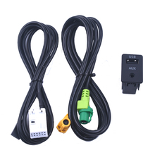 2016 AUX for vw Volkswagen RCD510 / 310 + 300 POLO new Magotan Touran reform USB switch