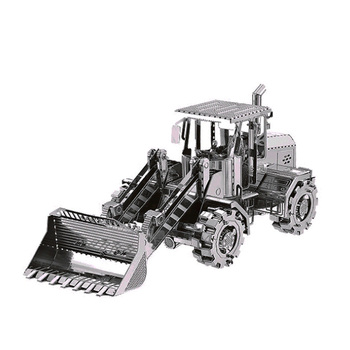 SPIELZEUG-Puzzle 3D Metall Modell Fahrzeug Gebäude 19 Arten DIY Edelstahl Laser Schneiden Modell Kit Erwachsenen Puzzle Sammlung