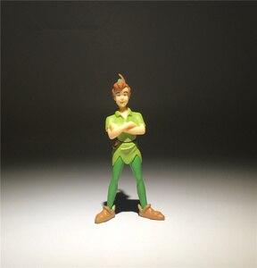Image 3 - 2 peças/lote 9cm jack e o pirata neverland peter pan ação figura brinquedos coleção brinquedo