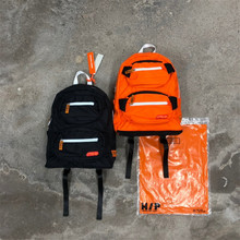 Heron Preston Pocketed Backpack 2019 Men Women Casual Daypacks СТИЛЬ Logo Pockets package