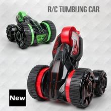 2017 RC Car 6CH 5 Wheels Buggy Cars ABS Rotation Crawlers RC Drift Flashing Stunt Car
