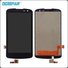 Negro Para LG K4 vs425 K130 LCD Pantalla Táctil con Digitalizador Asamblea Completa piezas de Repuesto Libre del envío + Tracking No