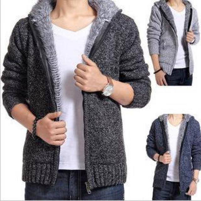 2016 New Winter Coat Hooded Mens Sweater Explosion Models With ...