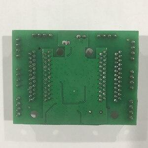 Image 2 - 8 linha de pinos mini design ethernet switch placa de circuito para ethernet switch módulo 10/100mbps 8 porta pcba placa módulo de interruptor led