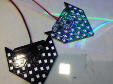 Red Yellow Green Blue 33 SMD LED Sequential Arrow Panel Car Side Mirror Turn Signal Blinker Light