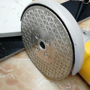 Image 5 - SHDIATOOL 1 pc Elettrolitico del diamante taglio disco di macinazione Entrambi I Lati rivestito di diamanti lama di granito di marmo di Taglio Ruota