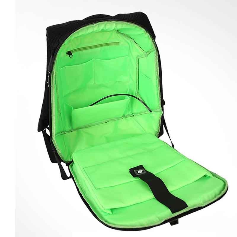 Luxury Travel Men Backpacks Solar Charge External USB 16Inch Laptop Backpack Anti-Theft Waterproof Bag for Men and Women Bookbag