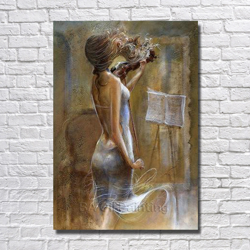 Large Handpainted New Abstract Portrait Oil Painting On Canvas Paintings Wall Art Home Decoration Wall Pictures No Framed
