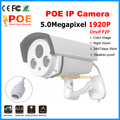 CCTV Camera 5MP Network ip Camera 1920P Full HD 2592x1920 waterproof 2Array LED IR night vision onvif 5.0Megapixel POE ip camera
